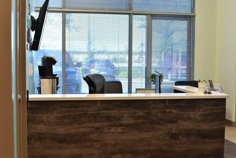 EYE For Business Reception Area