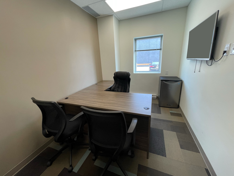 Full Office View of Office 14 in the EYE for Business Center