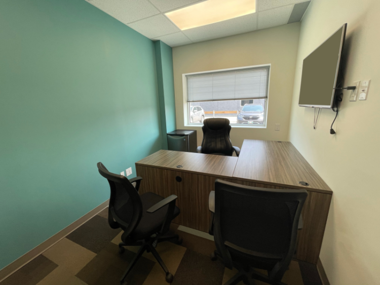 Full Office View of Office 17 in the EYE for Business Center