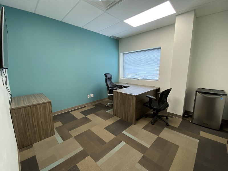 Full Office View of Office 19 in the EYE For Business Center
