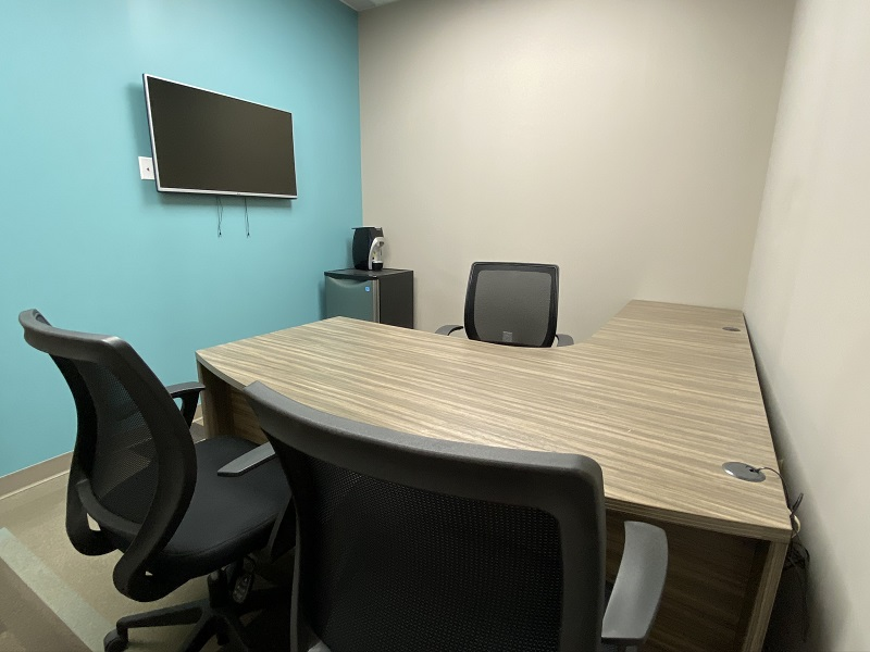 Full Office View of Office 29 in the EYE For Business Center