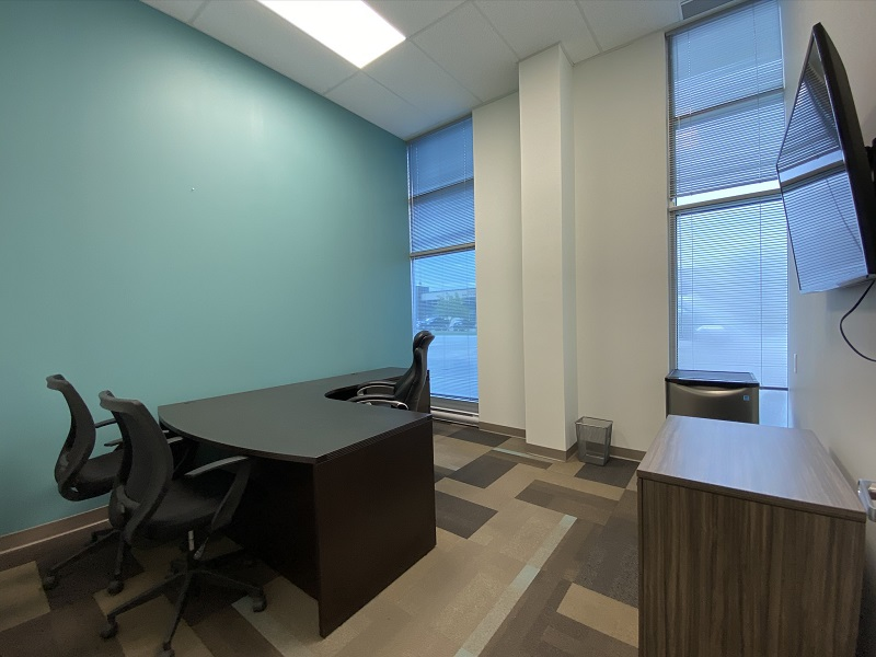 Full Office View of Office 21 in the EYE For Business Center